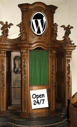 Confessional Blog Box