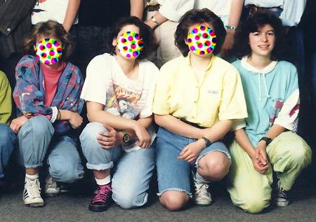 Klassenfoto 1989