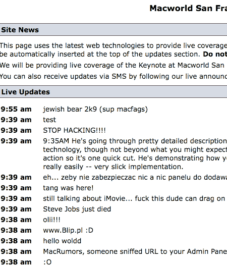 Macrumors Hack