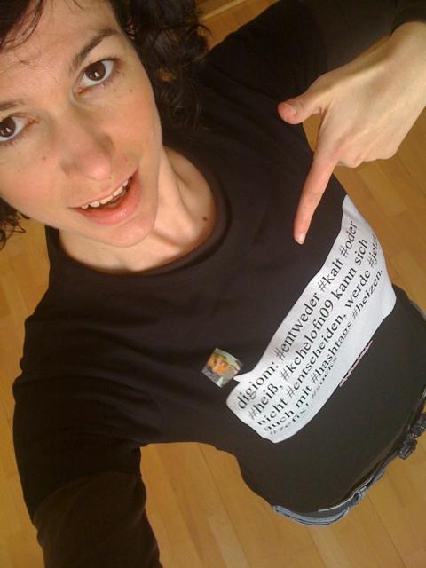 Jana's tweetshirt