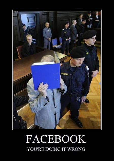 Facebook - you're doing it wrong