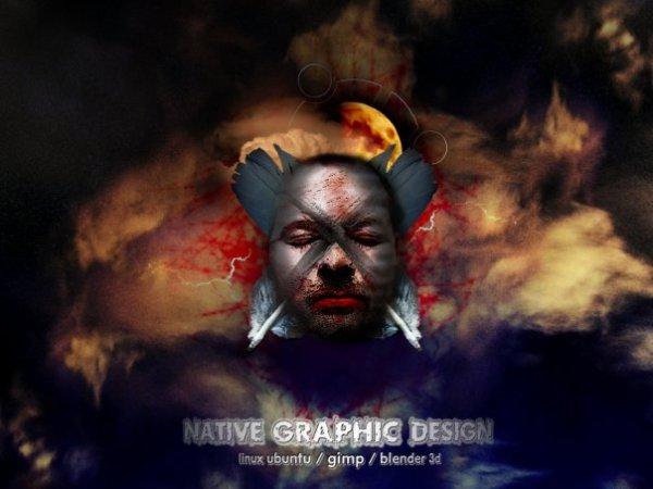 native graphic design by Stefan Herwig